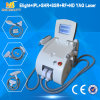 En 2016 Meilleur Prix Portable Impulsion Longue Q-switched Nd YAG LASER + E-Light IPL SHR IPL RF