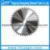 Tct van het Uiteinde van het Carbide van het wolfram de CirkelBladen van de Zaag voor Hout
