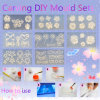 3D Nail Art Decoration Carving DIY ensembles du moule
