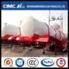 Cimc Huajun 20cbm Stainless Liquid Tanker Without Main Beam