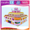 2016 nuova vendita calda Plaground con la strumentazione dell'interno di divertimento dei bambini di alta qualità del trampolino
