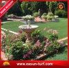 Grama ajardinando artificial do jardim ao ar livre profissional