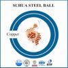 Esfera sólida de la bola de cobre de la precisión 3.175m m