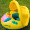 Opblaasbare Eend pvc of TPU of Dierlijke Drijvende Zetel voor Baby