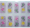Lovely Glitter 3D Nail Art Stickers Autocollants pour ongles