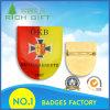 Штыри отворотом зажима армии логоса алюминиевые/эмблема/значки подгоняли изготовление