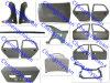 Porta do aço/carro do painel de Autobody das recolocações de Geely Ck-1/Ck-2/pára-choque/capa/tampa/Crossmember. do tronco