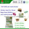 DMF는 높은 효과적인 곰팡이 증거 스티커를 반대로 주조한다 스티커를 해방한다