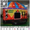 De opblaasbare het Springen van de Disco Koepel van de Uitsmijter met Disco van het LEIDENE de Lichte Kasteel van Inflatables Bouncy