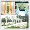 Tela 100% del satén del color del poliester para el vestido de boda/la silla/la tabla/Ect
