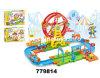 Giocattolo educativo del gioco del blocchetto dei giocattoli della pista elettrica del treno (779814)