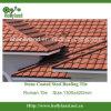 Hoja revestida de piedra del material para techos (azulejo romano)