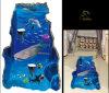 상어 Whale Dolphin 3D Floor Sticker