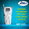 1064nm&532nm épilation de chargement initial de déplacement de tatouage de laser de ND YAG