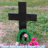 愛のための普及した山西の黒い花こう岩の十字の墓碑
