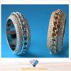 Обручальное кольцо R10499 AAA CZ кольца способа кольца стерлингового серебра 925