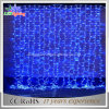 2X3m Decoração ao ar livre PVC Wire Holiday LED Christmas Colorful Curtain Light