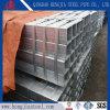 A53 gr. B 4 pouces de tube en acier galvanisé Std rectangulaire