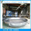 Углеродистая сталь Ellipsoidal головки блока цилиндров для масляного бака