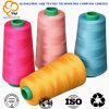 100% ha filato i vestiti del filetto del tessuto del filato cucirino del poliestere che cucono l'uso