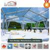 祝祭およびイベントのための白く明確なスパン浜のテント