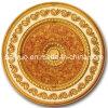 贅沢な食堂の天井の円形浮彫り(BRRD15-OF-100-F)