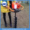 Eixo helicoidal de terra à terra Digger manual à mão da broca do furo de borne da cerca