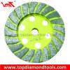 Double Turbo Cup Wheel for Grinding Stone