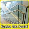 Vidrio de acero inoxidable pasamanos para escaleras y balcón