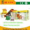 Voller automatischer hydraulischer konkreter Ziegelstein/Block, der Maschine (QT4-15, herstellt)