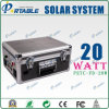портативная солнечная электрическая система 20W (PETC-FD-20W)