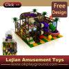 Parque do castelo para o campo de jogos plástico interno dos miúdos (T1419-6)