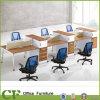 6 Seaterワークステーションディバイダのキュービクルの現代オフィス用家具