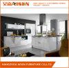 Mobília 2017 branca quente da cozinha da laca do projeto simples da venda de Aisen
