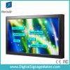 15 , 19 , 22  supermercado, monitor de la pantalla táctil del LCD de la tienda al por menor que hace publicidad del vídeo, haciendo publicidad del jugador