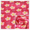 FDY 150d/96f 100%Polyester Floral Printed Polar Fleece Print 테리 Fleece, Garment Fabric, Blanket Fabric.