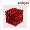 Esferas magnéticas de revestimento de Buckyballs do vermelho 125 (T-015)