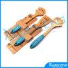 Lepels van de Keuken van het Werktuig van het Bamboe van de kwaliteit 4PC de Vastgestelde