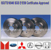 E1 R90 Approved Auto Parts Brake Rotors for Toyota