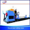 Machine de Cutting&Beveling de l'oxygène de plasma de pipe de commande numérique par ordinateur pour la structure métallique