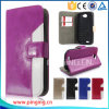 Mixed Color Leather Flip Cover Card Slots Case for Lanix L1100