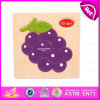 2015 Funny interessante Wooden Grape Puzzle Toy, Cartoon Wooden Puzzle Games Toy, Matching Game Puzzle per Educational Toys W14c087