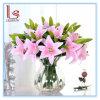 Boda y decorativo del hogar artificial de PVC seda flores del lirio
