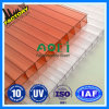 CE ISO 9001: 2008 a approuvé la feuille creux en polycarbonate Lexan