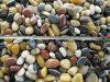 طبيعيّ مزج أسود/أصفر/بيضاء/نهر حصاة حجارة لأنّ حديقة/يرصف/ساحة/فندق/يرتّب/زخرفة