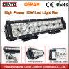 Fila doble de alta potencia de la barra de luz LED con EMC para off road, automóviles, camiones