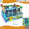 Les enfants à l'intérieur de l'équipement de terrain de jeux doux Hx10201b