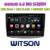Witson 9  Grote Androïde 6.0 Auto van het Scherm DVD voor Volkswagen Magotan/Passat B7 2010-2016