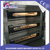 Oven van het Dek van de Apparatuur van de bakkerij de Elektro 3 Lagen 9 Dienbladen met Stoom