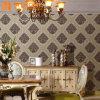 Papier peint gravé en relief décoratif classique de luxe de mur intérieur de revêtement de mur de modèle